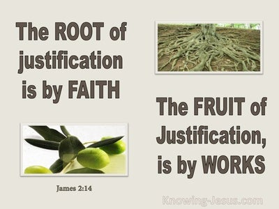 James 2:14 Someone Says He Has Faith (gray)