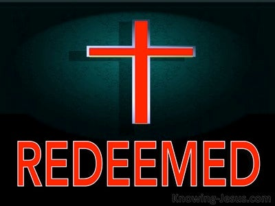1 Peter 1:18 You Were Redeemed (black)