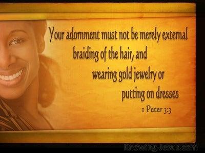 44 Bible verses about Dress