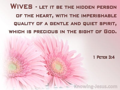 1 Peter 3:4 The Hidden Person Of The Heart (pink)