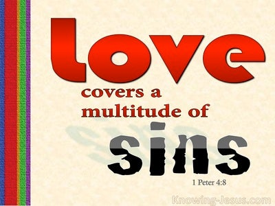 1 Peter 4:8 Have Fervent Love Among Yourselves (red)