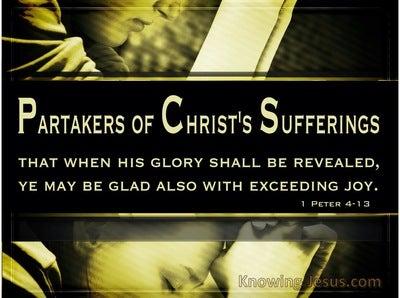 1 Peter 4:13 Suffering But Rejoicing (devotional)02:27 (black)