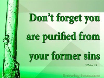 2 Peter 1:9 Lacking These Qualities Is Short:Sighted (green)