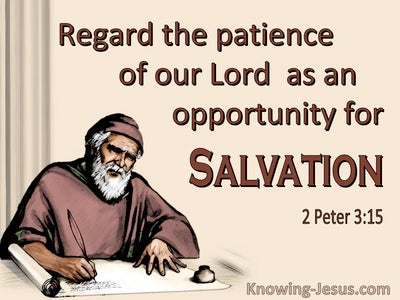 2 Peter 3:15 Brother Paul Taught According To Wisdom Given To Him (brown)