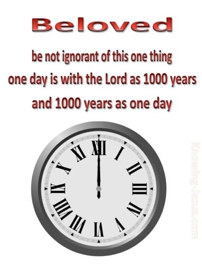 2 Peter 3:8 1000 Years Is As 1 day (red)