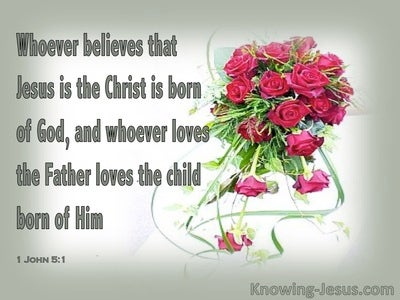 1 John 5:1 Child Of God (sage)