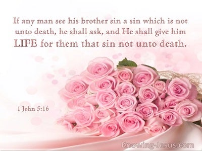 1 John 5:15 Life For Them That Sin Not Unto Death (utmost)03:31