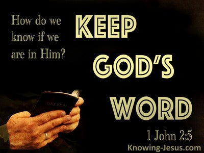 1 John 2:5 The Love Of God Is Perfected (gold)