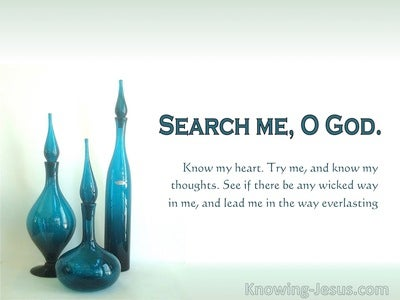 Psalm 139:23 Clean Vessels (devotional)05:16 (white)