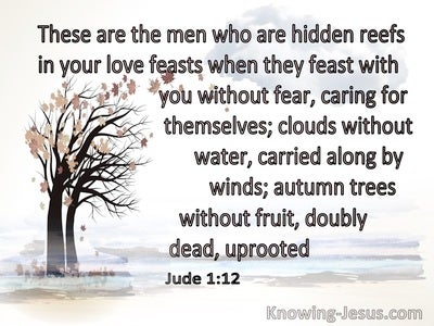 Jude 1:12 These Men Are Hidden Reefs (white)