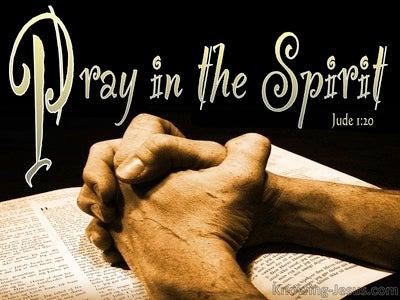 Jude 1:20 Teach Me To Pray (devotional)08:06 (black)