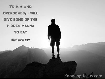 Revelation 2:17 To Him Who Overcomes I Will Give Some Hidden Manna To Eat (windows)11:15