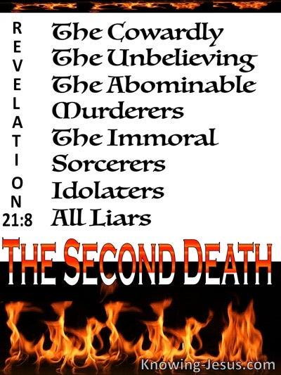 revelation 21 8 inspirational images
