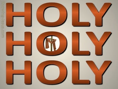 Revelation 4:8 Holy, Holy, Holy (brown)