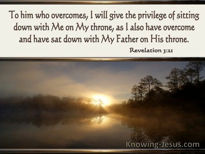 Revelation 3:21 As I Have Overcome And Sat Down With My Father On His Throne (windows)01:16