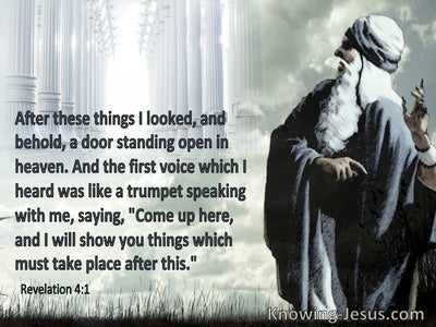Revelation 4:11 Revelation 4:11 Come Up Here And I Will Show You What Must Take Place (aqua)
