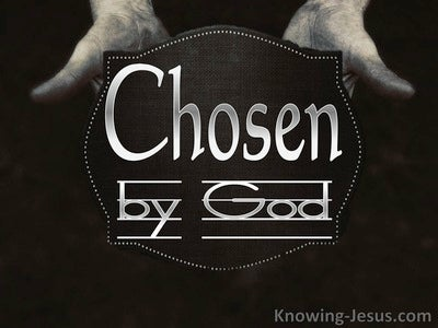 Chosen By God (devotional)  (black)