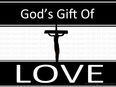 God's Gift Of Love (devotional) (white) John 15-30