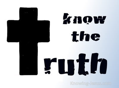 John 8:32 Know The Truth (devotional)11:21 (blue)