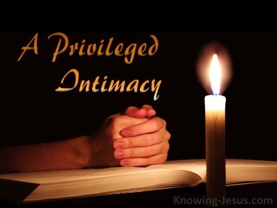 A Privileged Intimacy (devotional) (orange)