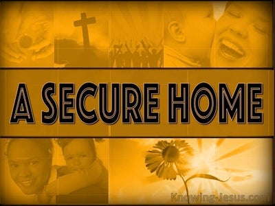 A Secure Home (devotional) (orange)