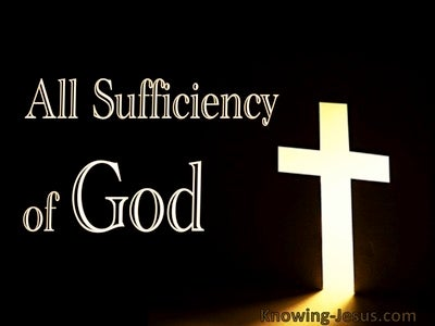 All Sufficiency of God (devotional) (black)