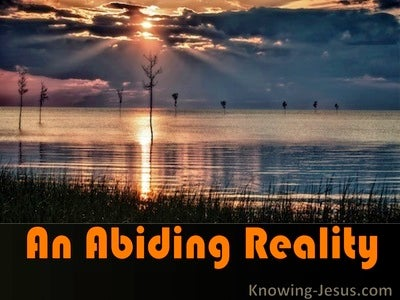 An Abiding Reality (devotional)