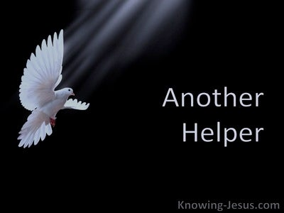 Another Helper (devotional) (white) - John 14:16