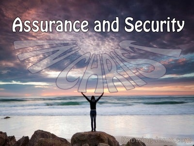 Assurance And Security (devotional) (purple)