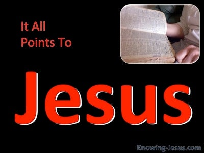 It All Points To Jesus (devotional) (red) - John 5:39