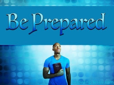Be Prepared (devotional)