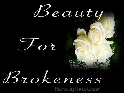 Beauty For Brokenness (devotional) (black)