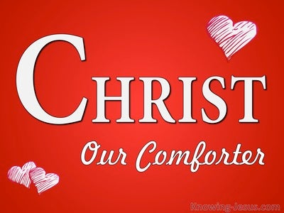 Christ Our Comforter (devotional) (red)