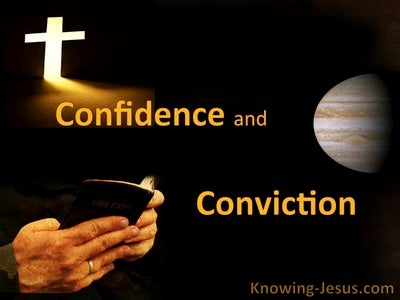 Confidence and Conviction (devotional)04-23 (black)