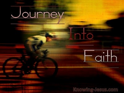 Journey Into Faith (devotional) (red)