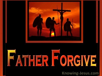 Father Forgive (devotional) (orange) - Luke 23-34
