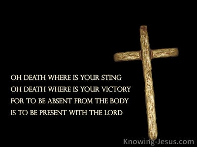 Fear Not Death (devotional) - 1Corinthians 15:55