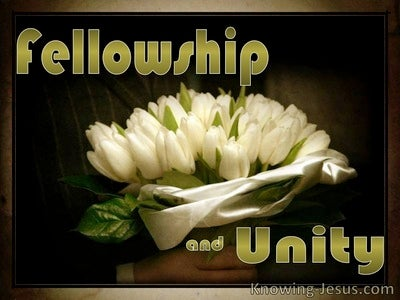 Fellowship and Unity (devotional) (black)
