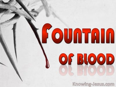 Fountain of Blood (devotional)12-15 (red)