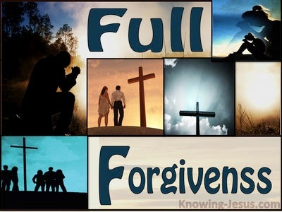 Full Forgiveness (devotional)