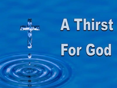A Thirst For God (devotional) (white)