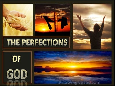 The Perfections Of God  (devotional)08-13 (gold)