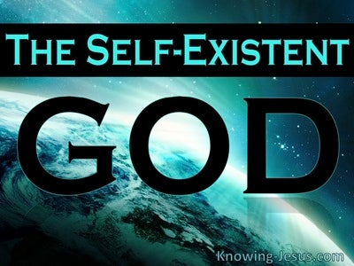 The Self-Existent God (devotional)