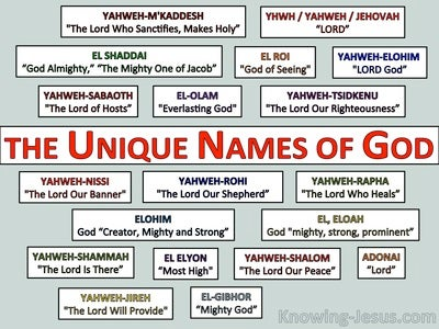 The Unique Names of God (devotional)07-26 (red)