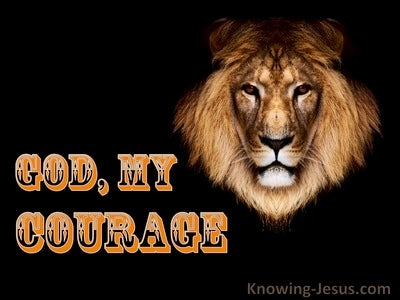 God, My Courage (devotional)02-25 (orange)