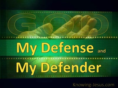 GOD My Defence and My Defender (devotional)