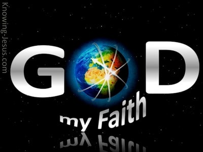 God, My Faith (devotional)02-26 (black)