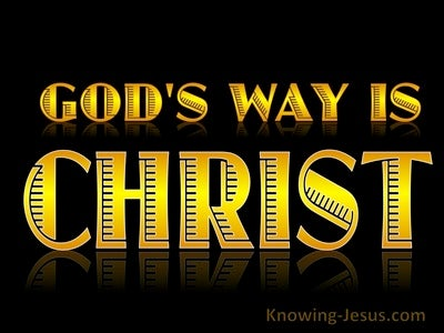 JOB - GOD's Way is Christ (devotional)