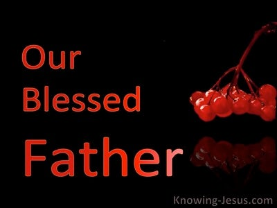 Our Blessed Father (devotional) (black)