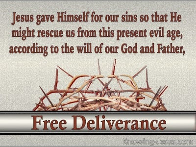 Galatians 1:4 Free Deliverance (devotional)12-03  (red)